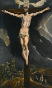 El Greco - Cristo en la cruz