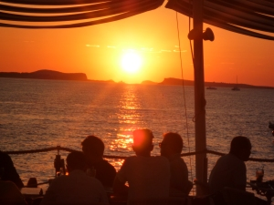 Sunset from Cafe del Mar, Sant Antoni, Ibiza