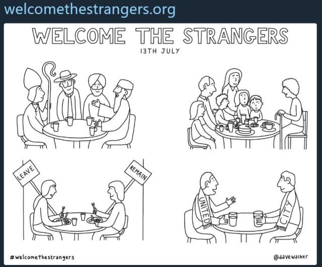 welcomethe stranger
