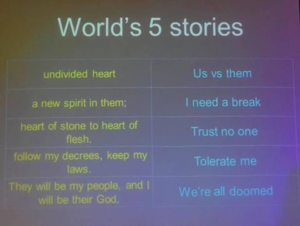 Trust no one: The world's 5 stories – part 3 | Making an ass