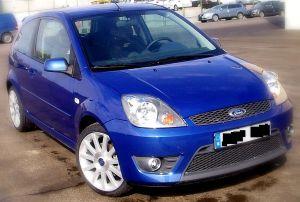 Mid blue 2006 Ford Fiesta